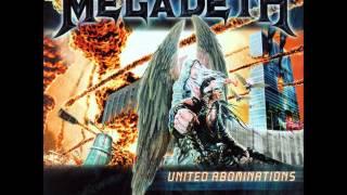 Megadeth - Burnt Ice