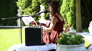 Love me like you do - Eva Croissant (Original: Ellie Goulding) live bei Trauung vor Schloss Wulkow