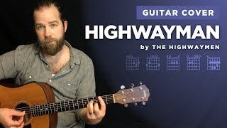 "🎶 ""Highwayman"" guitar cover (play-along w/ chords and lyrics)"