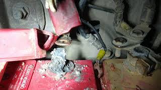 Fallo común en baterías, posible de evitar con un mantenimiento De Rutina!!!