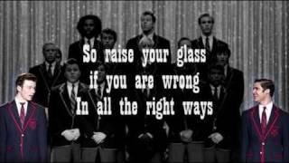 Glee - Raise Your Glass Video Lyrics HQ