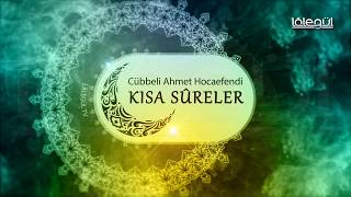 Zilzâl Sûresi  - Kısa Sûreler Cübbeli Ahmet Hoca Lâlegül TV