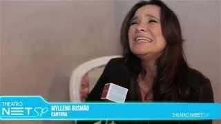 Isabela Taviani no show RAIO X no THEATRO NET SP