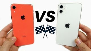 iPhone XR vs iPhone 11 Speed Test