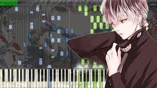 Asphyxia - Tokyo Ghoul:re OP   東京喰種トーキョーグール:re OP  ピアノ (Full) [Piano Tutorial +Midi   Sheet]