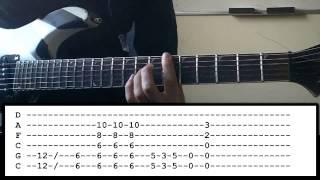 Hunter Eats Hunter - Guitar Lesson - Chevelle