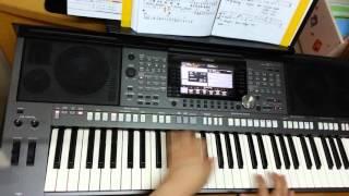 PSR-S970電子琴演奏  往事只能回味