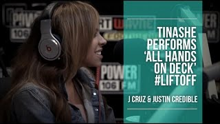 "Tinashe Performs ""All Hands On Deck"" LIVE on the LIFTOFF"