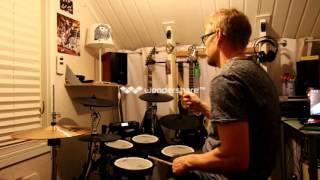Saxon - 747 Strangers in the night - drum cover