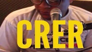 No microfone - Crer