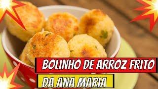 Programa Mais Voçê 15 /05 /19➡️➡️ Receita de Bolinho de Arroz frito da Ana Maria Braga Hoje