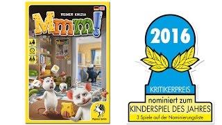 Nominiert zum Kinderspiel des Jahres 2016: Mmm!