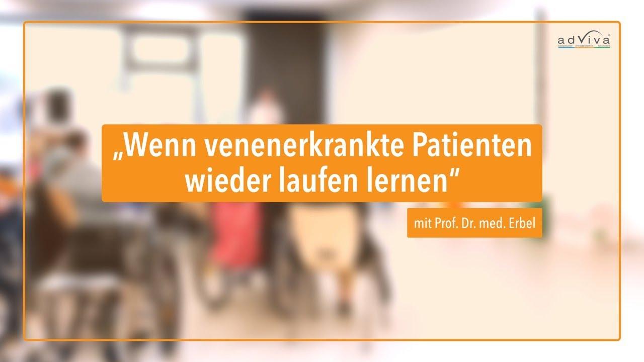 Wenn venenerkrankte Patienten*innen laufen lernen