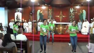 Coreografia Fã de São José- Ministério de Dança Juventude Católica