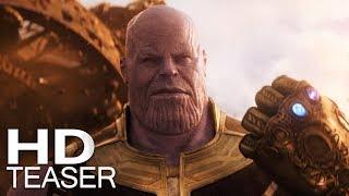 VINGADORES: GUERRA INFINITA | Teaser Trailer (2018) Legendado HD