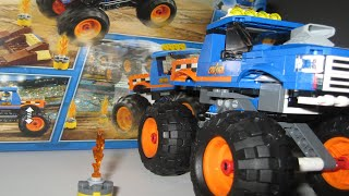 Lego City 60180 Monster Truck - Lego Speed Build
