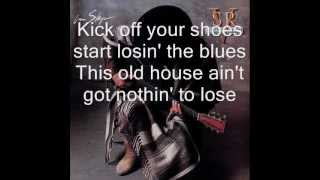 The house is rockin' - Stevie Ray Vaughan In Step - 1989 lyrics (HD)