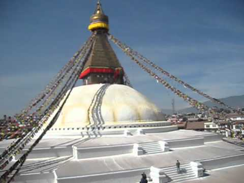 Bouddhanath Tempel Kathmandu, Nepal