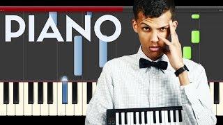 Stromae ave cesaria Piano Midi Tutorial Hard Sheet