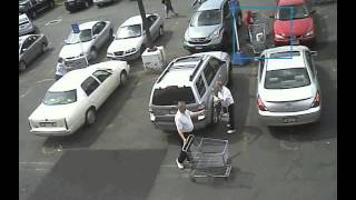 BriefCam for Investigations: Shopping cart is safe and sound
