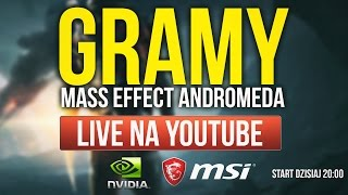 GIVEAWAY'E i KONKURSY na LIVE z Mass Effect Andromeda