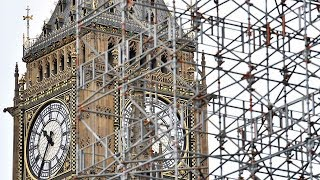People hear Big Ben sound for the last time until 2021