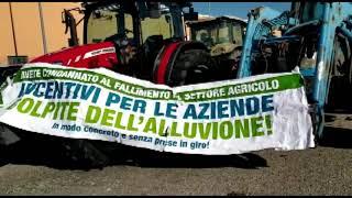 ISOLA CAPO RIZZUTO: PROTESTA DEGLI AGRICOLTORI