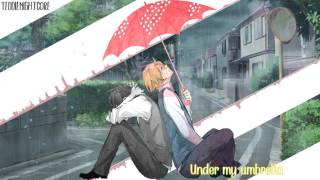 Nightcore - Umbrella (Switching Vocals) [Lyrics]