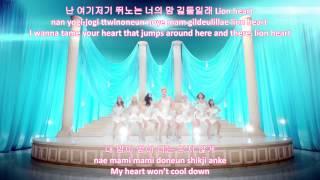 Lion Heart - Girls' Generation SNSD (eng|rom|han lyrics)