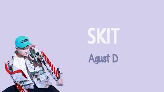 [PT-BR] Agust D - SKIT