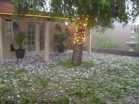 Extreme Hail In South Africa