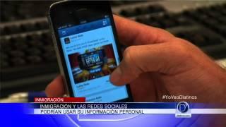 Departamento de inmigración puede revisar su perfil de Facebook