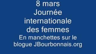 8 mars - Journée internationale des femmes
