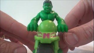 Moto de brinquedo do HULK