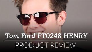 c0483074b8 Tom Ford FT0248 HENRY 52A Sunglasses in Tortoise