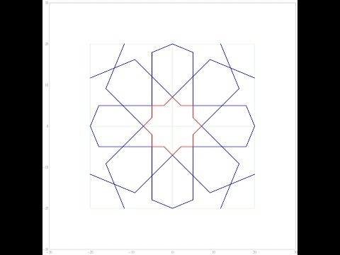 伊斯蘭的幾何拼貼 10A