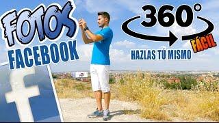 Cómo hacer fotos 360 para Facebook