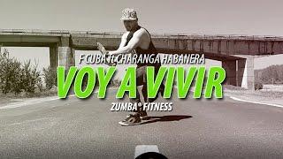 Voy A Vivir - F Cuba ft Charanga Habanera | Zumba Fitness Choreo by ionut