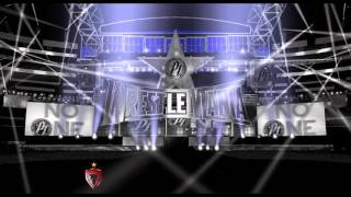 wwe wrestlemania 32 | AJ styles custom entrance stage animation