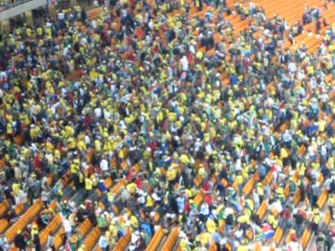 Fans at Soccer City