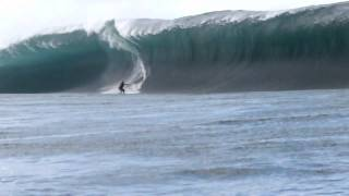 BILLABONG PRO TAHITI 2011 RED CODE WORST WIPE OUT EVER