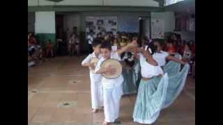 BAILE cumbia  LA POLLERA COLORA  NIÑOS JARDIN INFANTIL NACIONAL No 2 BARRIOEL GUABAL CALI
