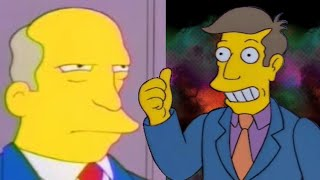 The Simpsons steamed hams with a laugh track