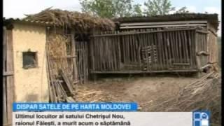 """Un sat din Moldova a rămas fără niciun locuitor! """"Pe vremuri era o localitate înfloritoare"""""""