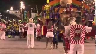 Escolas mirins do Rio promovem desfile de gente grande