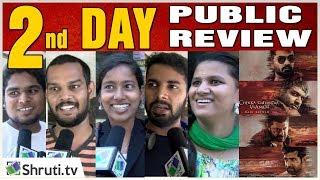 2nd Day Real! Chekka Chivantha Vaanam Review with Public   STR, Arvind Swami, Vijay Sethupathi