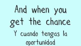 Dancing Queen (Glee Cast) | Lyrics on Screen (English/Español)