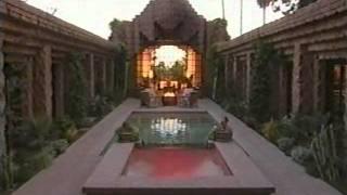 Lloyd Wright Hollywood Hills Mansion