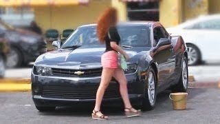 GOLD DIGGER GETS REJECTED! SPORTS CAR EDITION!