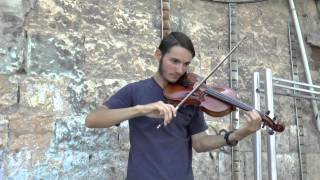 Hatikva  - Israeli National Anthem  - Jeremy Violinist Jerusalem
